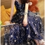 Lady Leslie Super Stars Sequin Embroidered Tulle Maxi Dress L245-89C01 thumbnail 5