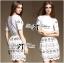 Chloe Lace T-Shirt and Lace Skirt Ensemble Set L163-79C08 thumbnail 1