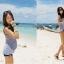 SM-V1-259 ชุดว่ายน้ำแฟชั่น คนอ้วน เด็ก ดารา thumbnail 6
