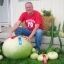 (Whole 1 Oz) น้ำเต้ายักษ์ - Giant Bushel Gourd thumbnail 1