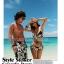 SM-V1-193 ชุดว่ายน้ำแฟชั่น คนอ้วน เด็ก ดารา thumbnail 6