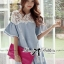 DR-LR-094 Lady Natalie Casual Slouchy Lace and Denim Dress thumbnail 14