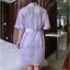 SL-I1-170 ชุดนอนเซ็ตชุดคลุม เสื้อคลุมเป็นผ้าซีฟอง thumbnail 9