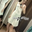 DR-LR-159 Lady Nicole Sexy Chic Pleated Dress with Belt thumbnail 2