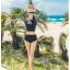 SM-V1-415 ชุดว่ายน้ำแขนยาว กางเกงชุดว่ายน้ำเอวสูง สีดำแขนเสื้อแต่งลายสวย เสื้อผูกด้านหลัง thumbnail 6