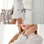 DR-LR-106 Lady Yuri All White Glam Chic Shirt Dress thumbnail 4
