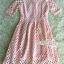 Pink lace dress skirt sweet by Aris Code A247-75E01 thumbnail 12