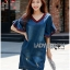 Lady Ashley Smart Casual Ruffle-Sleeve Denim Dress L267-7519 thumbnail 13