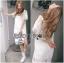 Lady Amanda Classic White Bold Lace Dress L194-69B06 thumbnail 8