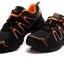 รองเท้าปั่นจักรยาน เสือภูเขา ลำลอง สีส้ม - TB22-B1285-0207 thumbnail 2