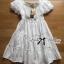 Lady Chloe Feminine Off-Shoulder Cotton and Lace Dress L188-75C08 thumbnail 13