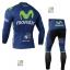 ชุดปั่นจักรยาน เสื้อปั่นจักรยาน และ กางเกงปั่นจักรยาน Movistar ขนาด XL thumbnail 2