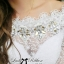DR-LR-201 Lady Natalie Elegant Crystal Embellished Insert Lace Dress thumbnail 3