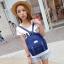 กระเป๋าเป้สไตล์เกาหลี &#x266B ้เป็นเป้ผ้าแคนวาส thumbnail 2