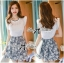 DS-PP-031 Lady Autumn Casual Sweet Hued Lace Set thumbnail 3