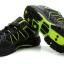 รองเท้าปั่นจักรยาน เสือภูเขา ลำลอง สีดำเขียว thumbnail 4