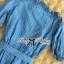 DR-LR-231 Lady Adele Off-shoulder Denim Ribbon Dress thumbnail 13