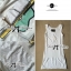 Lady Briony Playful Layered Sequin Dress Set สีขาว thumbnail 7