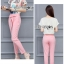 Lady Margie Playful Printed Top and Pink Ribbon Pants Set L261-7506 thumbnail 5