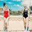 SM-V1-646 ชุดว่ายน้ำวันพีชเสื้อกล้าม สีดำ BROOKLYN_4 thumbnail 1