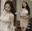 DR-LR-133 Lady Clare Classic Elegant Pearl Lace Dress thumbnail 1