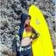 SM-V1-553 ชุดว่ายน้ำแขนยาวขายาว เซ็ต 4 ชิ้น สีดำตัดขอบลายเหลืองสวยๆ yellow-black soldier thumbnail 6