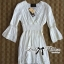 DR-LR-238 Lady Grace Insert Crochet Kaftan Dress in White thumbnail 12