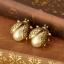 ต่างหู เต่าทองไขมุกวินเทจ thumbnail 1
