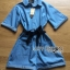 Lady Rosie Sporty Blue Denim Cotton Playsuit with Ribbon L188-69B07 thumbnail 13
