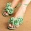 รองเท้าแตะคีบยางซิลิโคน ดอกไม้ ฟูฟรุ๊งฟริ๊ง mellissa thumbnail 8