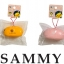 CA405 SAMMY Rabbit Orange Squishy (SOFT) 6.5 cm ลิขสิทธิ์แท้ thumbnail 2