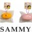 CA403 SAMMY Rabbit white Squishy (SOFT) 6.5 cm ลิขสิทธิ์แท้ thumbnail 3
