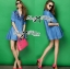 DR-LR-158 Lady Rosalie Smart Chic Embroidered Denim Shirt Dress thumbnail 4