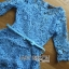 Stephanie Sweet and Chic Baby Blue Lace Dress with Belt L219-89C11 thumbnail 6