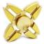 HF226 Fidget spinner -Hand spinner - GYRO (ไจโร) ทองเหลือง thumbnail 1