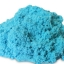 PS020 ทรายนิ่ม Soft Sand Play Sand ทรายสีฟ้า น้ำหนัก 500 กรัม thumbnail 1