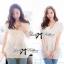 Lace V Collar Korea blouse L168-55C11 thumbnail 1