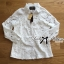 Lady Blaire Floral Embroidered Lace Shirt in White L274-7509 thumbnail 14