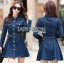 Lady Andy Casual Chic Denim Shirt Dress with Belt L206-75E04 thumbnail 8