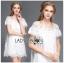 Lady Mandy Pretty Feminine Embellished Lace and Chiffon Dress L226-75C04 thumbnail 4