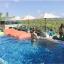 SM-V1-638 ชุดว่ายน้ำเอวสูง บราเกาะอกแต่งช่อลูกไม้สวยๆ กางเกงสีชมพู thumbnail 10
