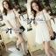 DR-LR-069 Lady Lara Sweet Casual Cotton Lace Mini Dress thumbnail 8