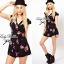 DC-PP-002 ASOS PETITE Exclusive Rosalyn Print Playsuit thumbnail 1