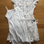 Lady Gabriela Crystal Embellished Flower White Lace Dress L263-8909 thumbnail 14