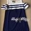 DR-LR-138 Lady Isla Glam Chic Navy Blue Striped Dress thumbnail 6