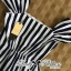 DR-LR-223 Lady Jenny '50s Style Mixed Striped Dress thumbnail 10