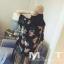 เสื้อคลุมกิโมโน ประดับพู่4ระดับ thumbnail 2