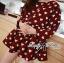 DR-LR-291 Lady Dree Monochrome Heart-Shaped Print Mini Dress thumbnail 2