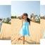SM-V1-137 ชุดว่ายน้ำแฟชั่น คนอ้วน เด็ก ดารา thumbnail 3