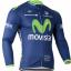 เสื้อปั่นจักรยาน แขนยาว Movistar พร้อมส่ง thumbnail 1
